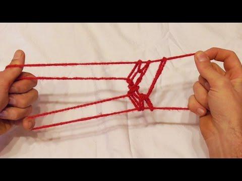 Learn The Fun Running Dog Action String Figure/String Trick - Walkthrough