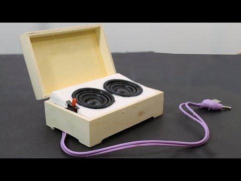 How to Make Mini Portable Speakers