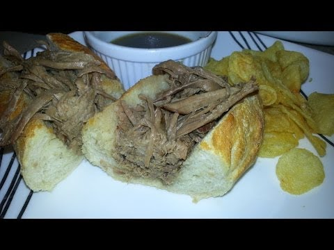 Crockpot French Dip - Easy French Dip Recipe/How to make video