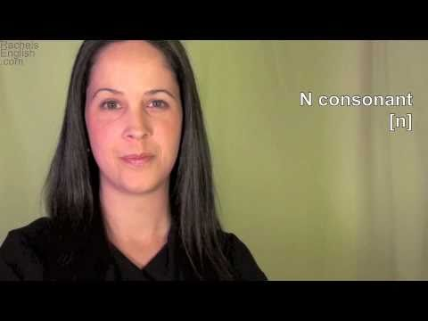 English: How to Pronounce N consonant: American Accent