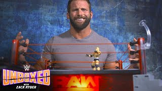 Zack Ryder goes to the mat with Mattel