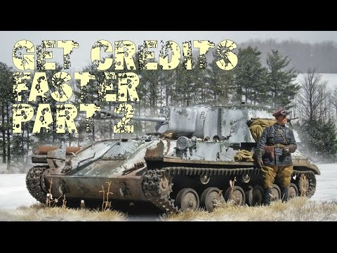 World of Tanks Blitz - Get Credits Faster Part 2