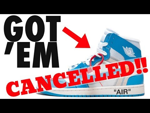 The TRUTH About Nike CANCELLING my OFF-WHITE x JORDAN 1s On SNKRS