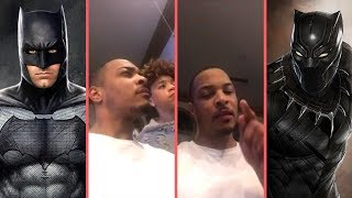 "Rapper T.I. Gets Into A ""DC vs. Marvel"" Debate With His Kids Debates Black Panther , Batman and More"