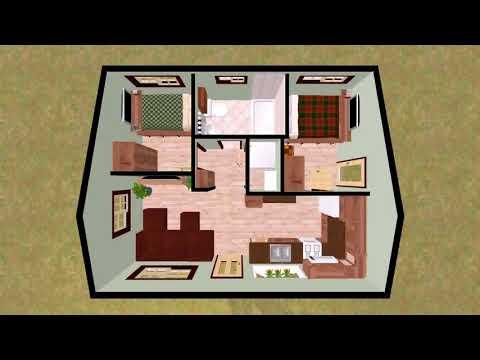 Tiny House Open Floor Plans