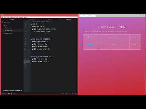 CSS Grid Layout Course #09: Set Grid Row & Column