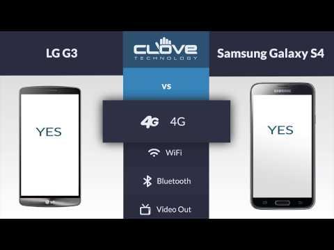 LG G3 vs Samsung Galaxy S4 Comparison