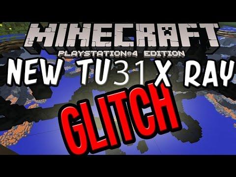 Minecraft PS4 PS3 XBOX WII U TU31 X Ray Glitch!