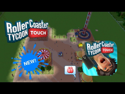 Brand New | RollerCoaster Tycoon Touch Mobile | ROLLER COASTER TYCOON IS ON IOS!!!! | #1