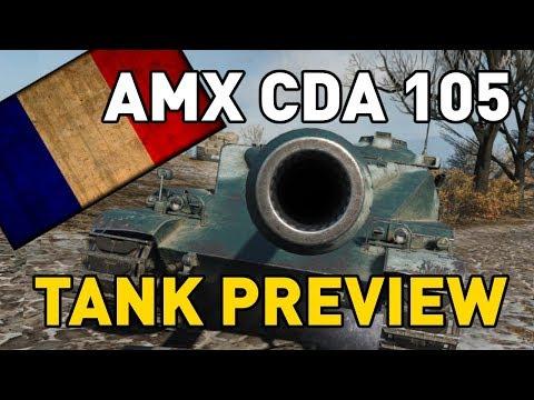 World of Tanks || AMX CDA 105 - Tank Preview