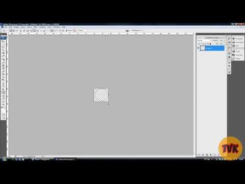 How to make a watermark on Adobe Photoshop CS3/CS4