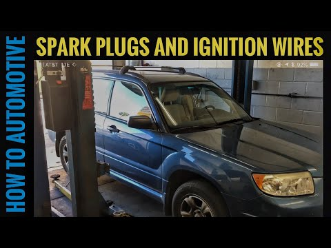 How to Replace the Spark Plugs and Ignition Wires on a Subaru Forester, Impreza, and Outback