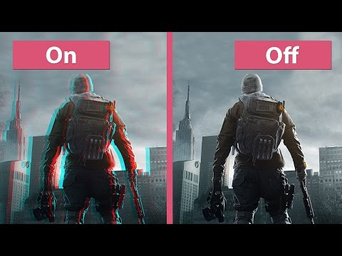 The Division Beta – Graphics Options / Settings on Consoles Comparison PS4 XB1