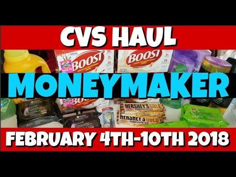 CVS MONEYMAKER Haul February 4th-10th 2018