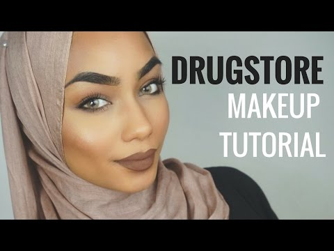 Drugstore makeup tutorial   Sabina Hannan