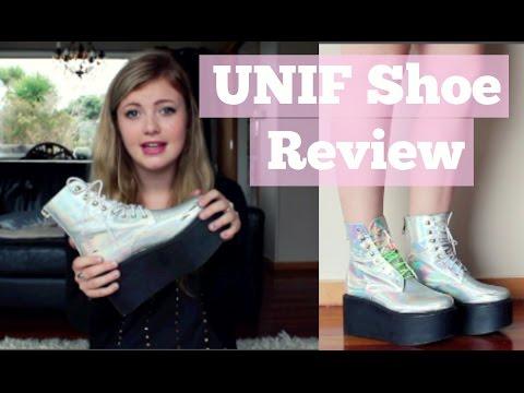 UNIF Hologram Gammaray Boot | Shoe Review