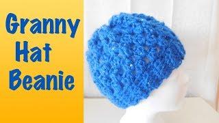 Mütze Im Granny Square Muster Häkeln Granny Hat 1914 Min Mp4 Hd