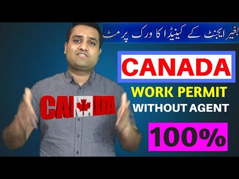 No Agent 100% Free WORK PERMIT in Canada