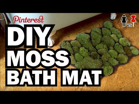 DIY Moss Bath Mat, Corinne VS Pin #28