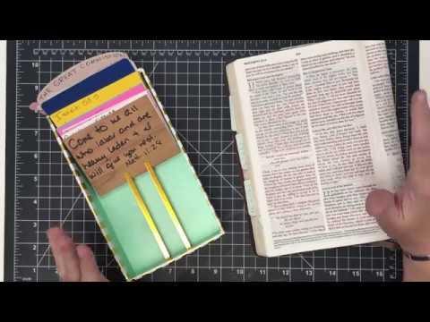 2018 heART Scripture Journey Matthew 11 28