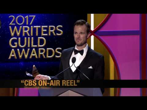 Brian Retchless wins the 2017 Writers Guild Award for On-Air Promo