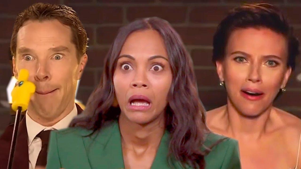 Avengers: Infinity War Cast ★ All Best Funniest Moments