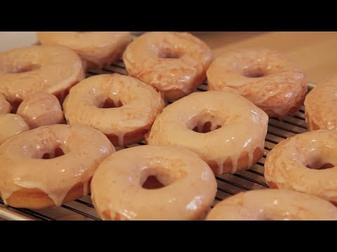 How to Make Homemade Glazed Yeast Donuts