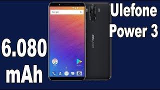 Ulefone Power 3 6GB RAM + 64GB 21MP Camera 6080mAh Battery