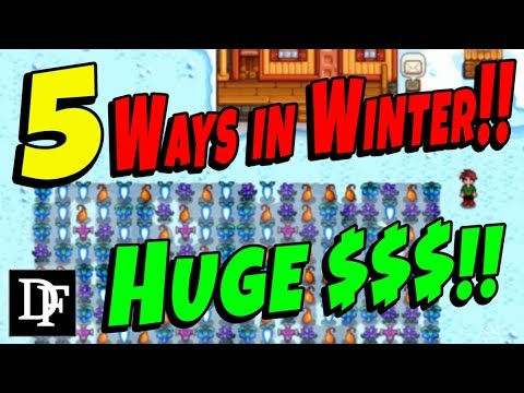 5 BEST Things To Do In Winter! - Stardew Valley
