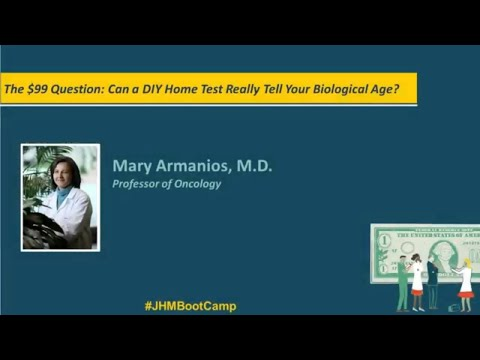 The $99 Question: Can a DIY Home Test Really Tell Your Biological Age? | Mary Armanios, M.D.