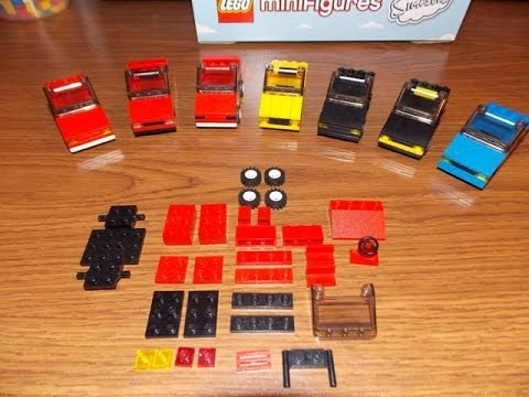 How To Make a LEGO Compact Car