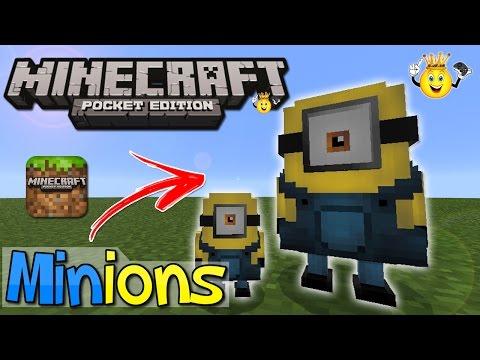 ⭐️Como Instalar Addon Minions Minecraft PE
