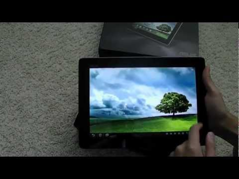 [HD] Asus Transformer Pad Infinity TF700 Quick Unboxing