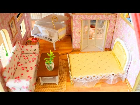 🏡 How to Make Miniature Dollhouse Furniture - DIY Tutorial