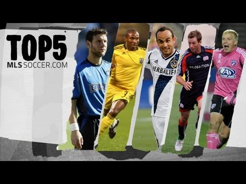 Top 5 - Greatest American Players in MLS History