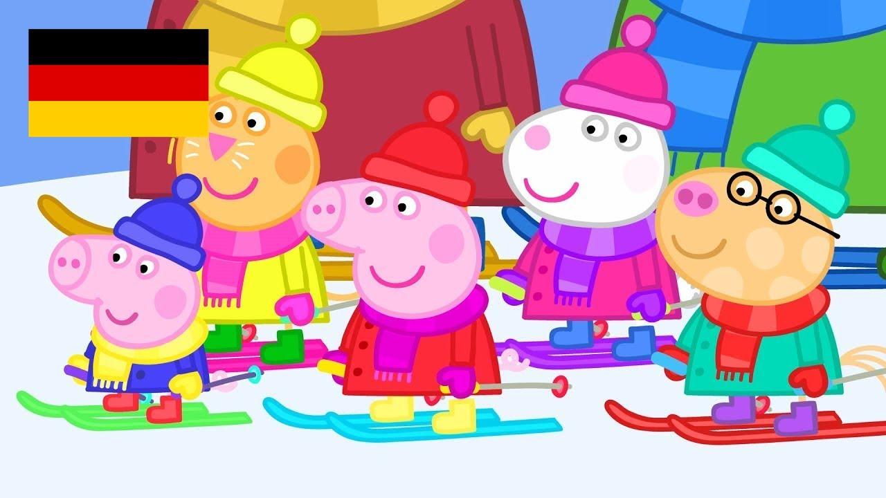 Peppa Wutz | Winter - Zusammenschnitt | Peppa Pig Deutsch Neue Folgen | Cartoons für Kinder