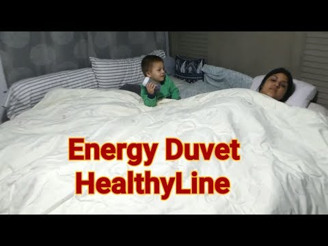 Energy Duvet Comforter by HealthyLine - Tourmaline Fibers- Best Sleep Ever