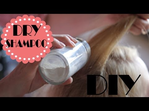 Get Rid of Oily scalp with Dry Shampoo | DIY