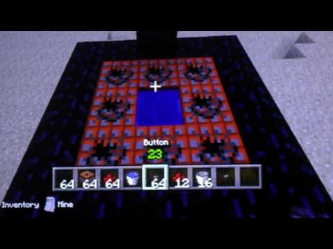How to make a body CANNON on minecraft.