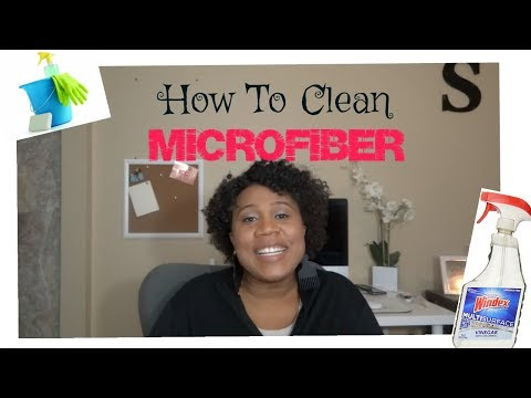 HOW TO CLEAN MICROFIBER/USING ONE PRODUCT ONLY
