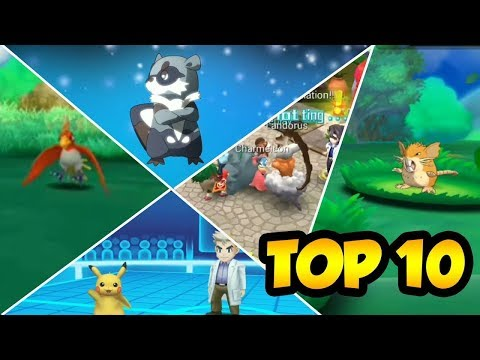 TOP 10 GAMES LIKE POKEMON FOR ANDROID AND IOS NOVEMBER 2017! - WITH DOWNLOAD LINKS!