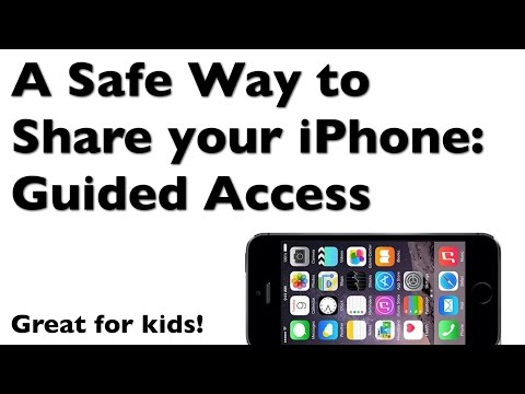 iPhone Guided Access (Kids Mode) - A Safe Way to Share Your iPhone