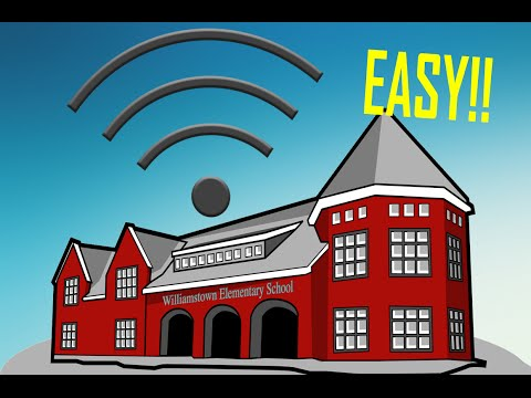 How to HACK! Your Schools WiFi!!! (EASY)
