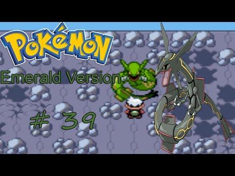 Let's Play Pokemon Emerald: Part 39 - Shiny Rayquaza!!!