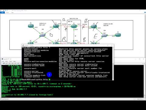 CCNPv2 Route 300 101 IP Services, Remote access, device access control, Telnet and SSH, HTTP, SCP an