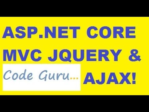 C# ASP.Net Core MVC Web Application with JQUERY and AJAX!