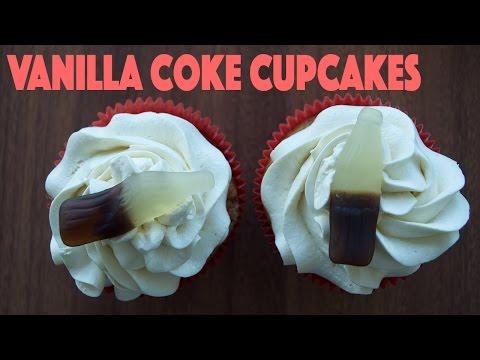 Vanilla Coke Cupcakes | Basic Baking