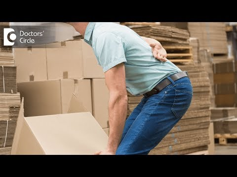 How to prevent Back Pain induced by heavy weight lifting? - Dr. Vidyadhara S