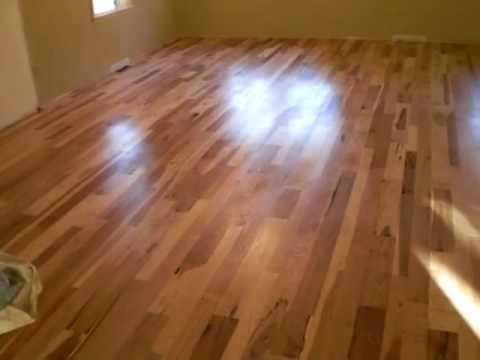 Natural Finish, 100% Natural Floor Finish, Buffed Wood Floors