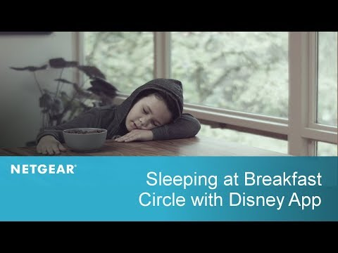 Sleeping at the Breakfast Table | Circle with Disney